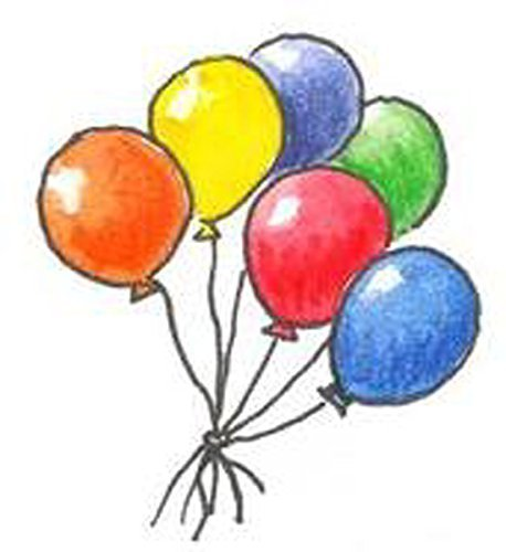 Luftballon rund orange 100 Stück 23-25cm Durchmesser Schadstoff geprüft Helium g