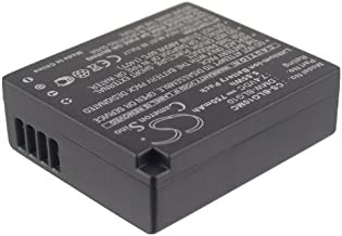 Battery Replacement for Leica D-Lux Type 109 Part NO BP-DC15