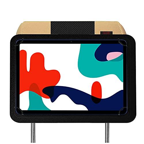 Soporte Tablet Coche reposacabezas para Tablets de 10.1' 10.4' 10.9' 9' Nylon irrompible Soporte para Tablet Coche mas Seguro del Mercado Porta Tablet para Coche Soporte Funda Coche Tablet