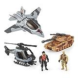 True Heroes Multi Vehicle Military Playset