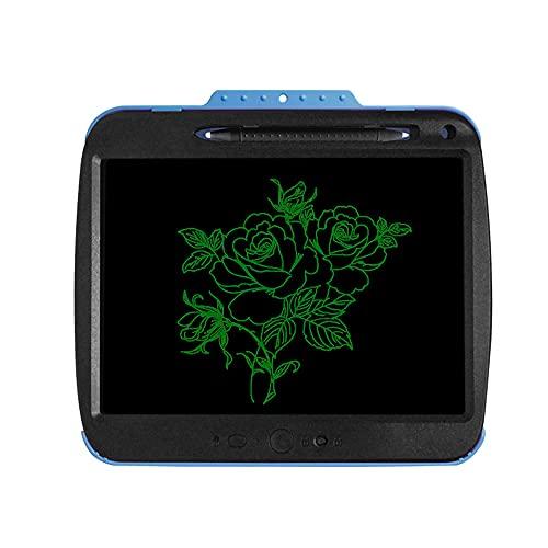 Tableta de Escritura LCD,Fesjoy Tableta de Escritura LCD de 9 Pulgadas, translúcida, borrable, Sensible a la presión, para Dibujar y Escribir, para niños y Adultos, con protección para los Ojos, para