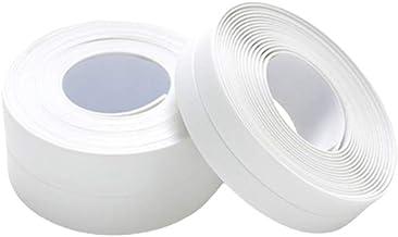 Cabilock Delicado 2 unidades de fita de vedação à prova d' água para banheiro de cozinha, fita adesiva autoadesiva resiste...