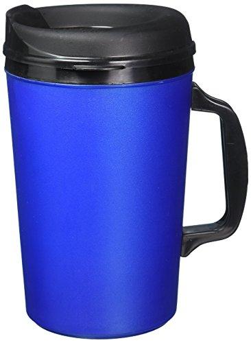 34 Oz Thermoserv Foam Insulated Coffee Mug- Pearl Dark Blue