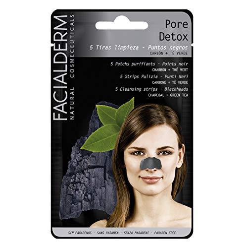 Facialderm - Tiras Limpieza Pore Detox - Puntos Negros