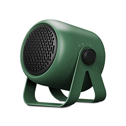 JYDQT Escritorio portátil Calentador eléctrico Calentador del Bloque 3 Mini Calefactor silencioso de Ahorro de energía de Ahorro de energía del Dormitorio del hogar (Color : C)