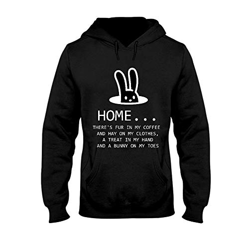 Home Theres Fur in My Coffee and Heno On My Clothes Sudadera