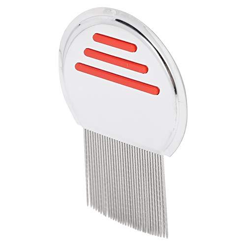 Peine para quitar piojos, conforme al diseño ergonómico, suave, para quitar la suciedad(red)