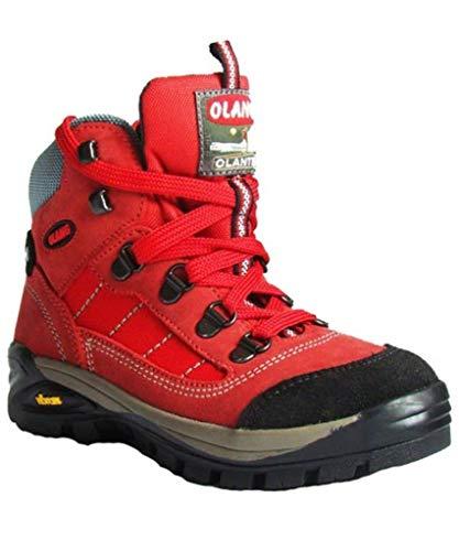 Olang Trek Shoes TARVISIO Kid Tex, Rot - rot - Größe: 28 EU