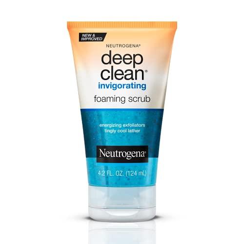 NEUTROGENA NEUTROGENA Deep Clean Invigorating Foam Scrub 125mL, 0.17899999999999999 kg Pack of 1