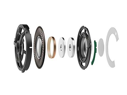 Sony MDR-100AAP Hear your Colours Bügelkopfhörer (40 mm High-Resolution Treibereinheit, faltbar, Headset-Funktion, Frequenzen bis zu 60 kHz) rot