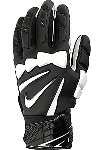 Nike Hyperbeast 2.0 Football Lineman Gloves (Black/White, X-Large)