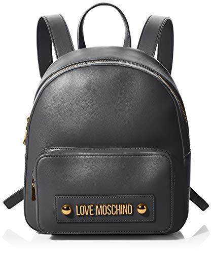Love Moschino Jc4028pp1a, Borsa a Zainetto Donna, Nero (Nero), 9x12x23 cm (W x H x L)
