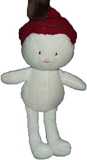 X- otros–Doudou Sergent Major oso blanco gorro rojo Ponpon marrón–2930