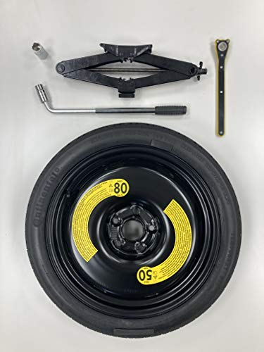 Mercedes GLC 19 inch Ersatzrad Notrad, Sparewheel Spacesaver, 2.0 Tonnes Toolset