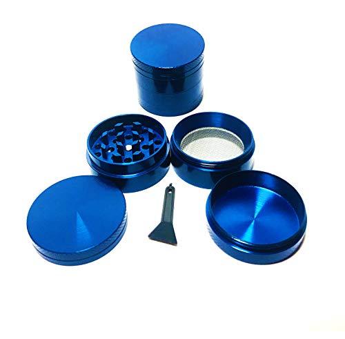 Merlin Scientific Metal Magnetic Herb Grinder Spice Grinder Blue