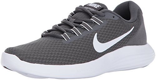NIKE Men's LunarConverge Running Shoe, Dark Grey/White/Anthracite/Black, 9.5 D(M) US