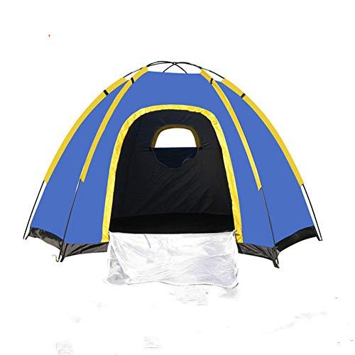 LXLTLB Tente Ventilation, 2 Personne Tente De Trekking, Tente Imperméable Éextérieure Double Couche 20D Tente De Camping en Silicone pour Randonnée Voyage Alpinisme