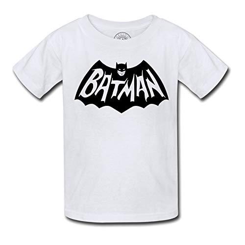 T-Shirt Enfant Batman Logo Vintage Comics Anime Chauve Souri