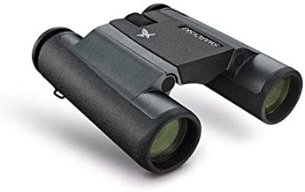 Swarovski Optik 10x25 CL Pocket Mountain Water Proof Roof Prism Binocular with 5.6 Degree Angle of View, Swarobright and Swarotop Lens Coatings, Black