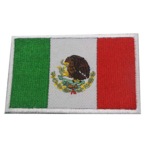Zonfer Bandera Nacional Bordado De La Insignia Mexicana