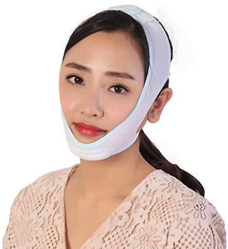 AQWESD Visage Minceur Bande, V Visage Artefact Facial Minceur Bandages Respirant De Levage Anti-Rides Double Menton Lift Ceinture Facial Lifting Ceinture