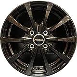 【ホイールのみ 4本セット】 Mi.Sheila (Ver.2) メタリック ブラック 12インチ 軽自動車用 軽トラック/軽バン 車検対応品 JWL-T 鋳造 ワンピース