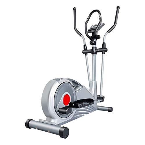 BZLLW Macchina ellittica, 7KG bidirezionale inerzia a rotelle, Built-in Sistema di Controllo Magnetico, Disegno ergonomico, for Le Piccole camere, Appartamenti, o dovunque