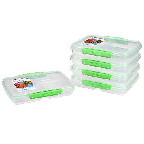 Sistema Behälter mit getrennten Fächern zum Portionieren, Plastic, 5