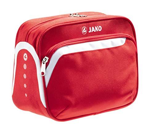 aufhängbare Kulturtasche von Jako in kräftigem Rot - abwaschbar - Immer gut organisiert hochwertiger Kulturbeutel, das perfekte Accessoire