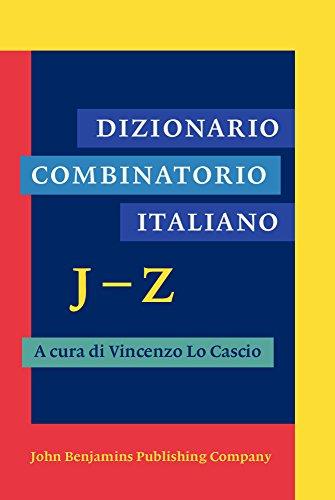 Dizionario Combinatorio Italiano