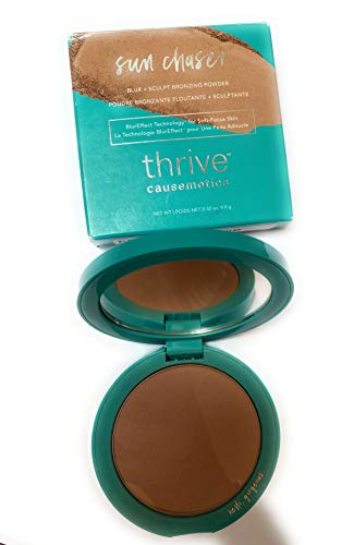 Thrive Causemetics Bronzer Sun Chaser Blur and Sculpt and Bronzing Powder