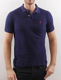 Polos Ralph Lauren - Polo para hombre modelo SMALLL PONY NAVYRED