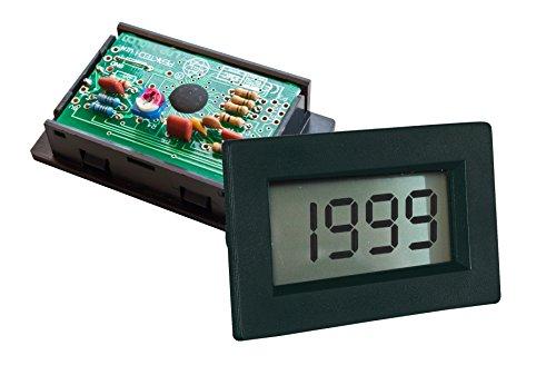 PeakTech Digital Einbau Voltmeter / Amperemeter 2000 Counts, 1 Stück, LDP-135