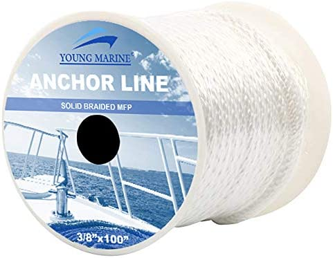 YOUNG Inventory cleanup selling sale MARINE Premium Indefinitely Solid Braid Anchor Braided MFP Line