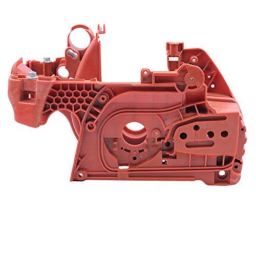 Caja del cigüeñal Kit de Caja del Motor del cárter para Husqvarna 445 450 E 445E 450E 537438201 Motosierra Partes del Motor de Gasolina