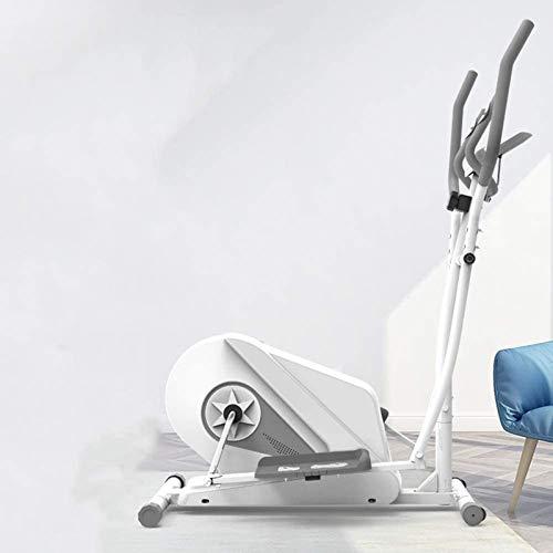 Máquina elíptica de transmisión bidireccional silenciosa, máquina de ejercicios elíptica de silencio MUTE controlada magnéticamente ajustable, con pantalla LCD, para el hogar, oficina, gimnasio ruronm