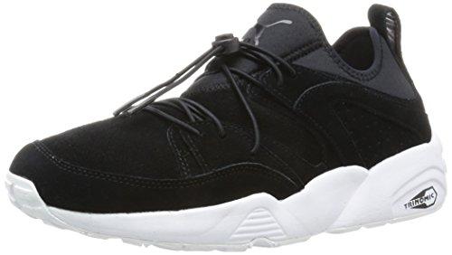 Puma Blaze of Glory Soft scarpe da ginnastica sneakers unisex alla moda in pelle scamosciata, Nero, Uomo, Blaze Of Glory Soft, nero, 42