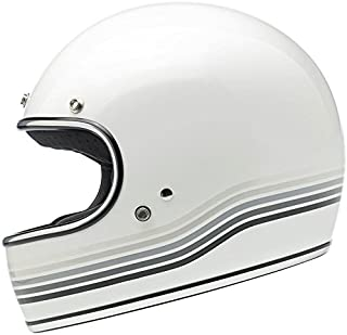 Biltwell Gringo Helmet - LE Spectrum Gloss White - XX-Large