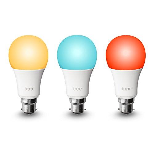 Innr B223-pack de Smart RGBW ampoules LED, couleur, à intensité variable (compatible...