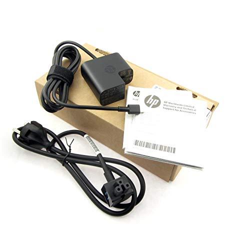 Preisvergleich Produktbild HP USB-C Netzteil 45 Watt Original 860210-850 für Hewlett Packard EliteBook Folio G1 / Pavilion x2 12-b000ng / Pro Tablet x2 612 G2 / Spectre 13-v000,  13-v100,  x2 12-a000