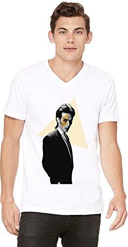 Bauhaus Band Mens V-neck T-shirt XX-Large