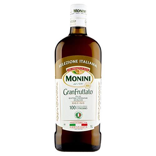Monini Granfruttato Olio Extra Vergine di Oliva - 1 Bottiglia da 1000 Millilitri