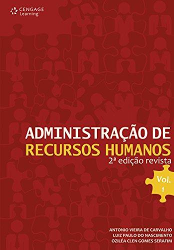 Administração de recursos humanos: Volume 1