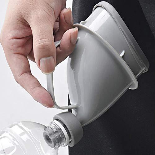 (RONGUI) 非常用トイレ 男女兼用 安心 緊急時にペットボトルが使える (1セット)