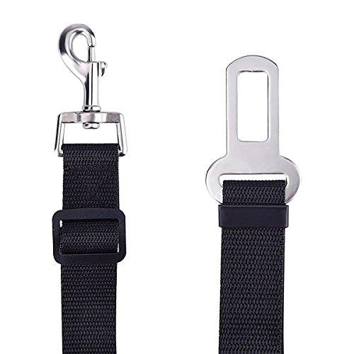 cane gatto auto cintura di sicurezza imbracatura regolabile per cavi cablaggio per auto veicolo Jechery Pet Car Seat cintura