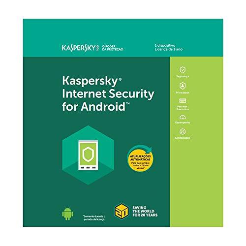Kaspersky Internet Security para Android - 1 Dispotivo - 1 Ano (Digital - Via Download)