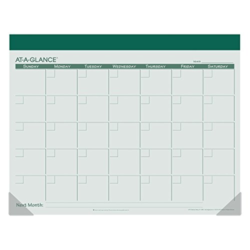 AT-A-GLANCE Undated Fashion Color Desk Pad 2016, 12 Months, 22 x 17 Inch Page Size, Color Will Vary (SK22510) Photo #2