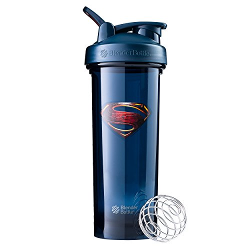 BlenderBottle Justice League Shaker Bottle, 32-Ounce, Superman