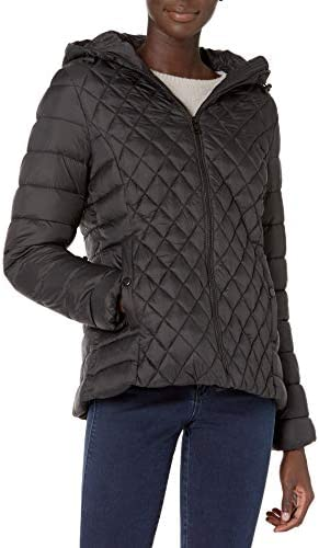 Steve Madden LADIES Packable Jacket 01A BLACK 3X product image
