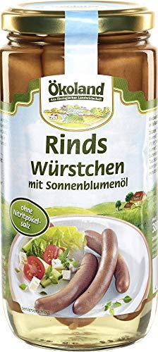 ÖKOLAND Bio Rindswürstchen (6 x 380 gr)